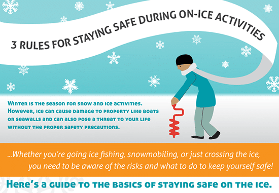 Three Rules of Staying Safe During On-Ice Activities [Infographic]